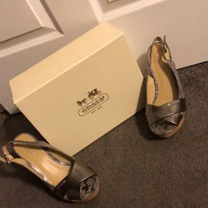 AUTHENTIC COACH HEELS